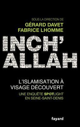 Couverture du livre : Inch'allah : l'islamisation à visage découvert