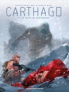 Couverture du livre : Carthago, tome 9 : Le Pacte du Centenaire