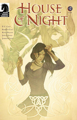 Couverture du livre : La Maison de la Nuit, Tome 2 (roman graphique)