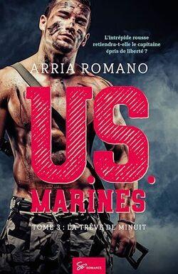 Couverture de U.S. Marines, Tome 3 : La trêve de minuit