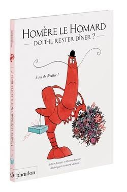 Couverture de Homère le homard doit-il rester dîner ?