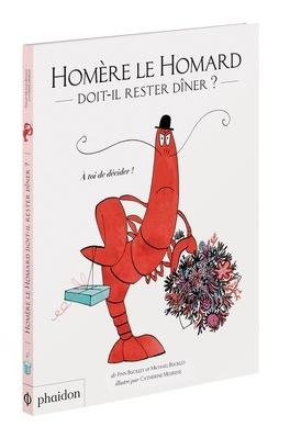 Couverture du livre : Homère le homard doit-il rester dîner ?