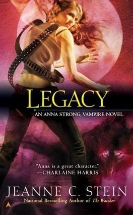 Couverture du livre : Anna Strong Chronicles, Tome 4 : Legacy