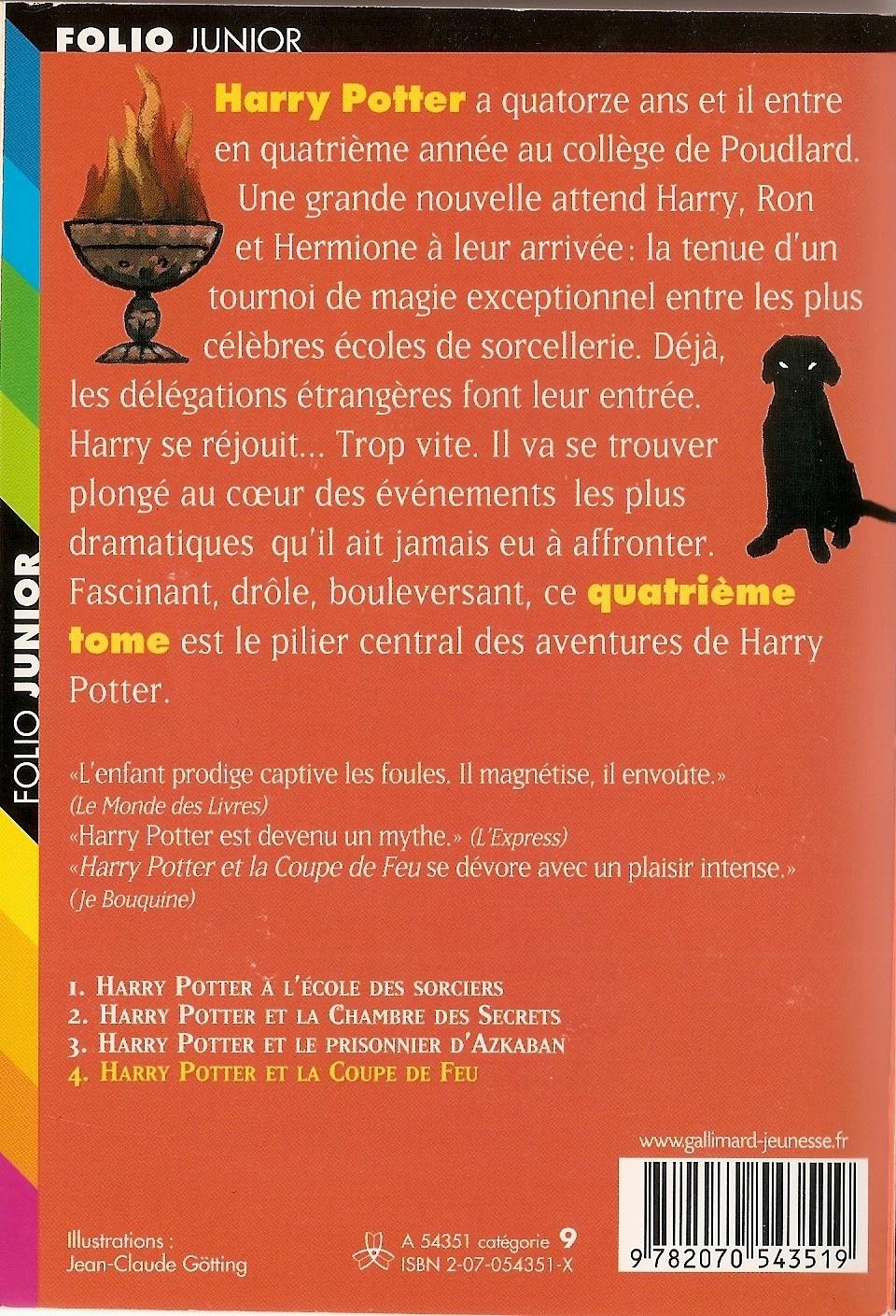 Couvertures Images Et Illustrations De Harry Potter Tome 4