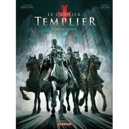 Couverture du livre : Le dernier Templier, Tome 1 : L'encodeur