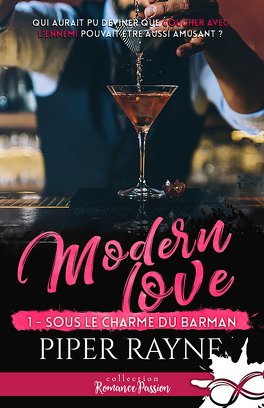 Couverture du livre : Modern Love, Tome 1 : Sous le charme du barman
