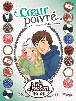 Couverture de Les Filles au chocolat, Tome 5 ¾ : Cœur poivré (BD)
