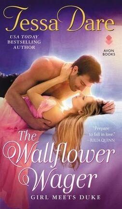 Couverture du livre : Girl Meets Duke, Tome 3 : The Wallflower Wager