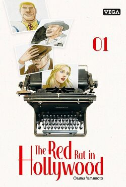 Couverture de The Red Rat in Hollywood, Tome 1