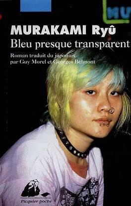 Couverture du livre : Bleu presque transparent