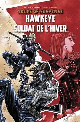 Couverture du livre : Tales of Suspense: Hawkeye et le Soldat de l'hiver