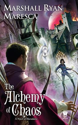 Couverture du livre : Maradaine, Tome 2 : The Alchemy of Chaos