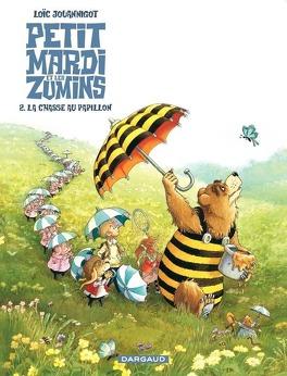 Couverture du livre : Petit Mardi et les Zumins, Tome 2 : La Chasse au papillon