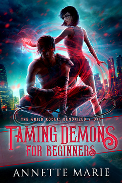 Couverture de The Guild Codex : Demonized, Tome 1: Taming Demons for Beginners