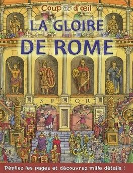 Couverture du livre : La gloire de Rome
