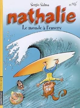 Couverture du livre : Nathalie, Tome 16 : Le Monde à l'envers