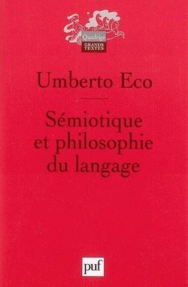 Couverture du livre : Sémiotique et philosophie du langage