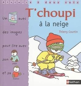 Couverture du livre : T'choupi à la neige