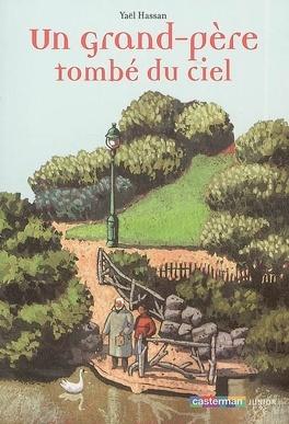 Couverture du livre : Un grand-père tombé du ciel