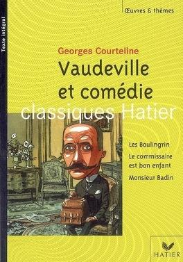 Couverture du livre : Vaudeville et comédie