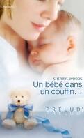 Un bébé dans un couffin...