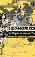 Log Horizon - La Brigade du Vent de l'Ouest tome 11