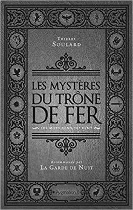 Couverture du livre : Les Mystères du Trône de fer, Tome 1 : Les mots sont du vent