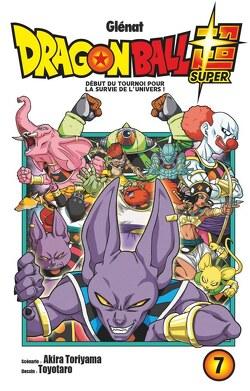 Couverture de Dragon Ball Super, Tome 7 : Début du tournoi pour la survie de l'univers !