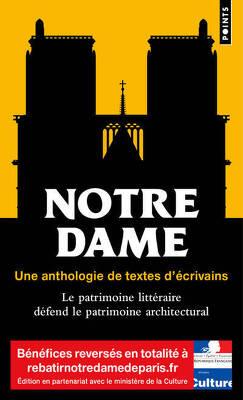 Couverture de Notre Dame, une anthologie de textes d'écrivains