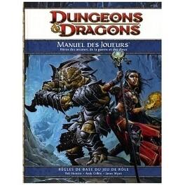 Couverture du livre : Dungeons & Dragons: Manuel Des Joueurs 4ième Éd.