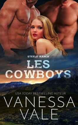 Couverture du livre : Steele Ranch, Tome 2 : Les Cowboys