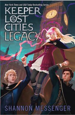 Couverture de Gardiens des cités perdues, Tome 8 : Legacy