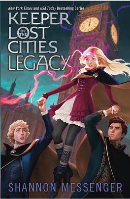 Couverture du livre : Gardiens des cités perdues, Tome 8 : Legacy