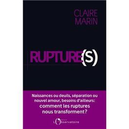 Couverture du livre : Rupture(s)