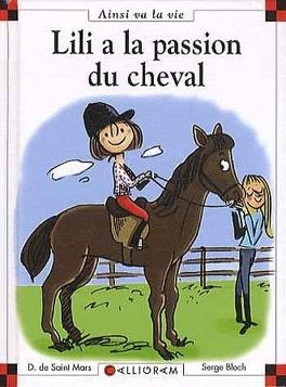 Couverture du livre : Lili a la passion du cheval