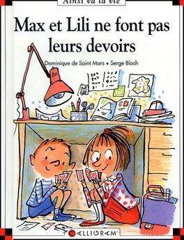 Couverture du livre : Max et Lili ne font pas leurs devoirs
