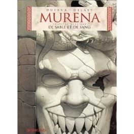 Couverture du livre : Murena, Tome 2 : De sable et de sang