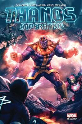 Couverture du livre : Thanos Imperative