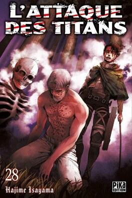 Couverture du livre : L'Attaque des Titans, Tome 28
