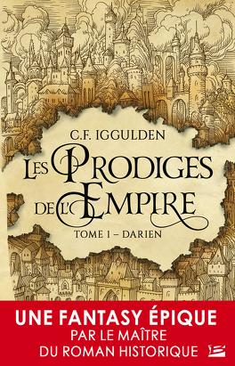 Couverture du livre : Les Prodiges de l'empire, Tome 1 : Darien