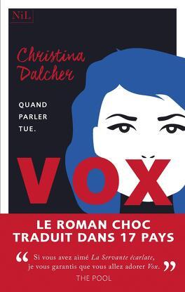 Vox Livre De Christina Dalcher
