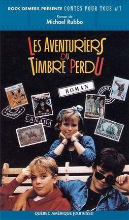 Couverture du livre : Les aventuriers du timbre perdu