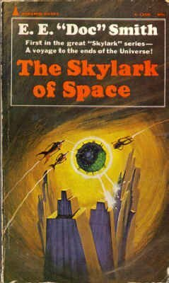 Couverture de Skylark, Tome 1 : The Skylark of Space