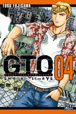 Couverture du livre : GTO - Shonan 14 days, tome 4