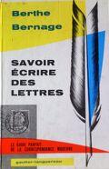 Savoir écrire des lettres