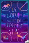 couverture Les Contes de Verania, Tome 1 : Le Cœur de foudre