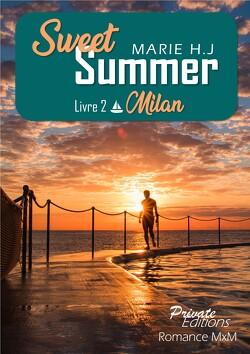 Couverture de Sweet Summer, Tome 2 : Milan