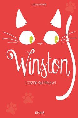 Couverture de Winston, Tome 3 : L'espion qui miaulait