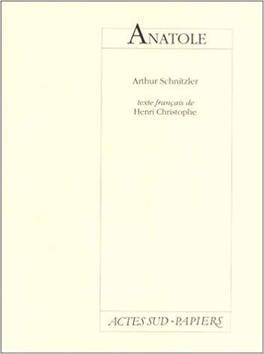 Couverture du livre : anatole