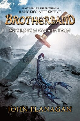 Couverture du livre : Brotherband, Tome 5 : Scorpion Mountain
